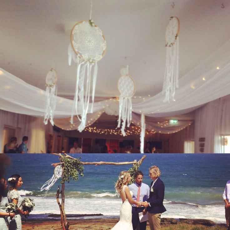 Boho beach wedding Dreamcatchers ~~available at okuahandmade@gmail.com