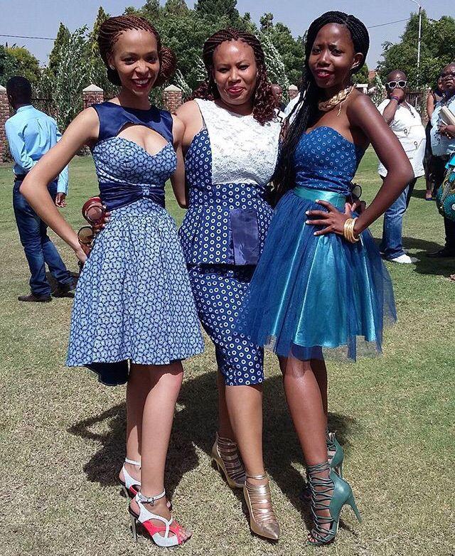 Tswana Tradition Modern African Fashion Pinterest Dresses