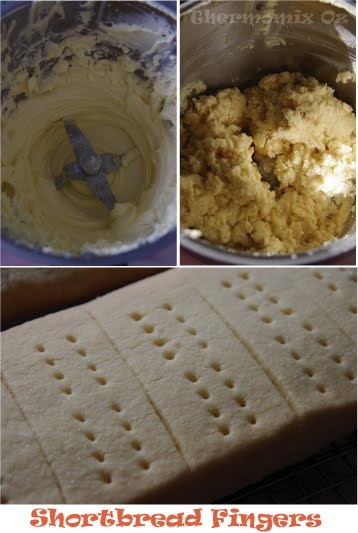 Thermomix Oz: Shortbread Fingers