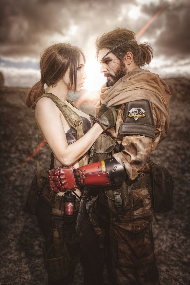 MGSV : Quiet and Big Boss