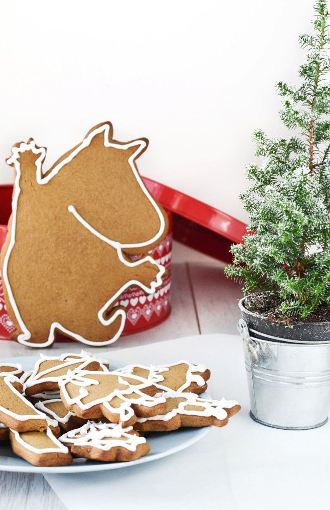 Gingerbread ❅ Moomins #Christmas