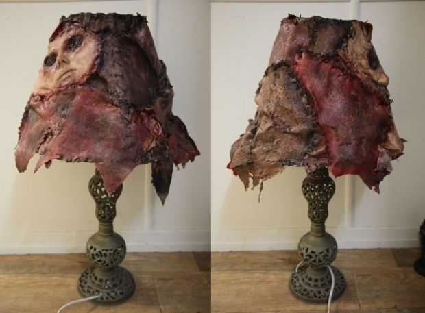 Ed Gein Made Using Flesh From Humans Replica Of Lampshade