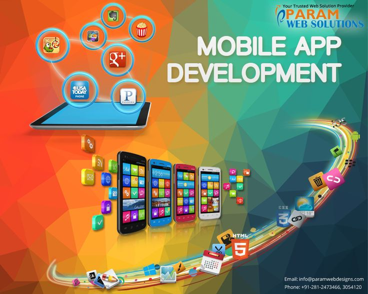 Param Web Solutions Provides #MobileApplicationDevelopment.  www.paramwebs.com