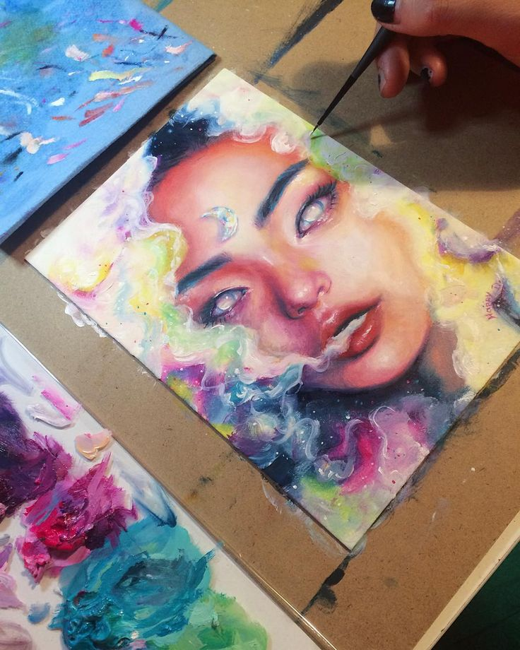 Tonight I'm working on this ganja princess for an upcoming show! A seductive…