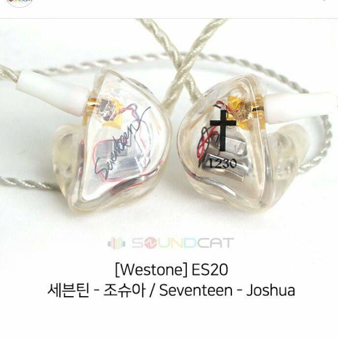 Seventeen In Ear Stage Earphones Joshua