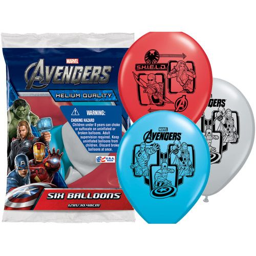 The Avengers Latex Balloons!