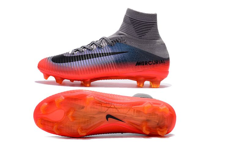Nike Mercurial Superfly V Cr7 Chapter 4 FG - Cool Grey-Orange-Metallic Hematite - $89.00 : Cheap soccer shoes,nike soccer cleats outlet - 65% off,Free shipping worldwide!