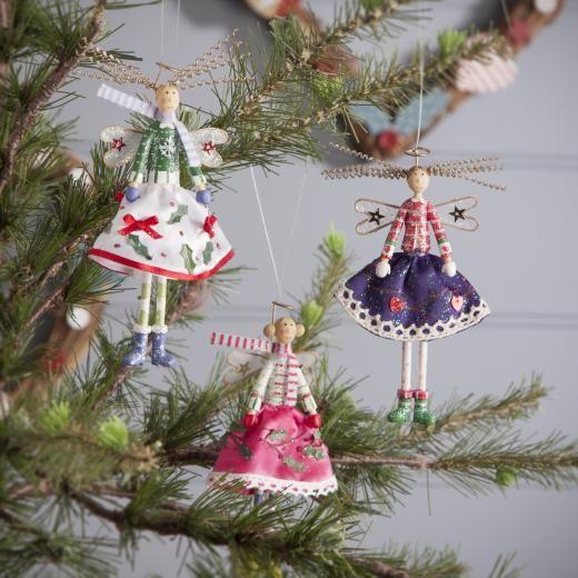 Christmas Fairy Decorations: 26 Best Gisela Graham Images On Pinterest