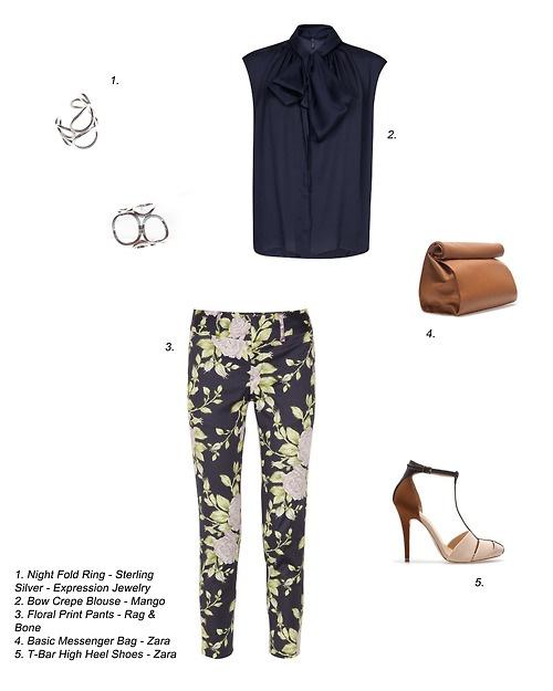 Floral Silver - ECJ Style board suggestion No. 3  Feels like spring is near …