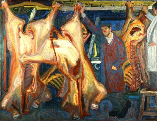 The butcher shop - Panayiotis Tetsis