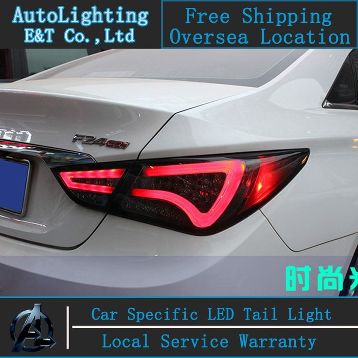 (274.35$)  Watch more here  - Car Styling For Hyundai Sonata8 LED tail lightsTail Lamp Rear Lamp Automobiles led drl rear lamp cover signal+brake+reverse