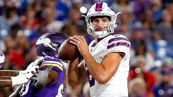 Bills' QB depth chart down to rookie Peterman