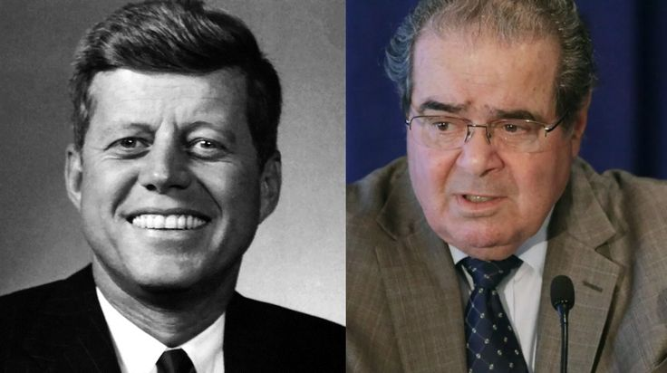 Justice Scalia's death in Texas is the 21st century version of the 20th century assassination of President John F. Kennedy.