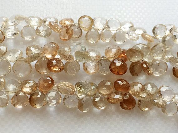 Imperial Topaz Golden Champagne Topaz Beads by gemsforjewels