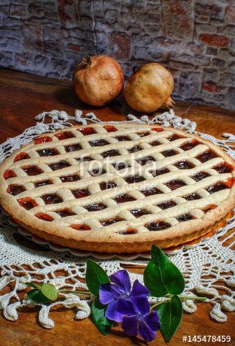 Crostata di marmellata di frutta