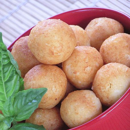 Bolitas de Queso is my favorite Puerto Rican food. (Croquetas de queso)