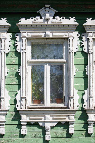 Traditional window frame (Nalichnik) from Egoryevsk, near Moscow, Russia #6