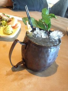 Bonefish Grill Copycat Recipes: Moscow Mule