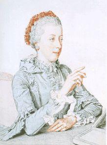 Liotard, 1762. Marie Elisabeth of Habsburg Lorraine.