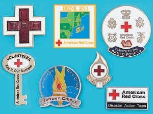 American Red Cross Pins