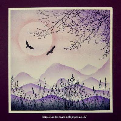 Sandma's Handmade Cards: Purple Passion