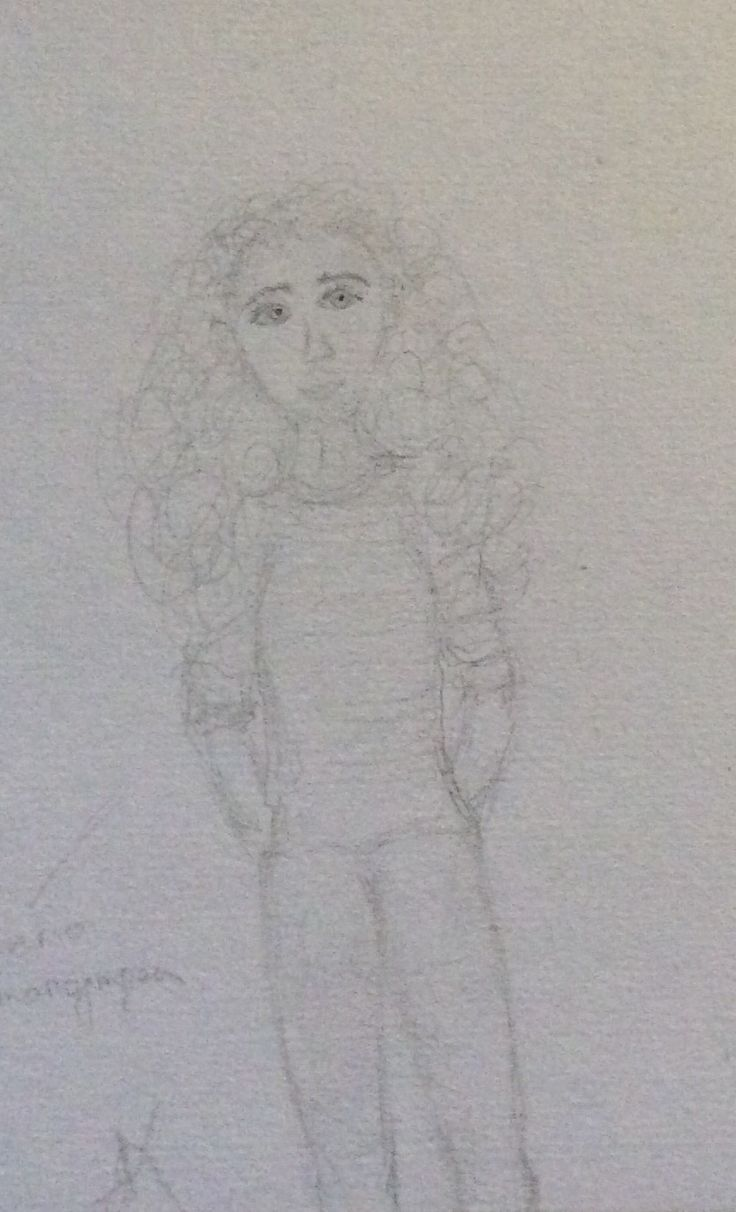Tried to draw an auto portrait;) it just didn't became as good as I though it would)