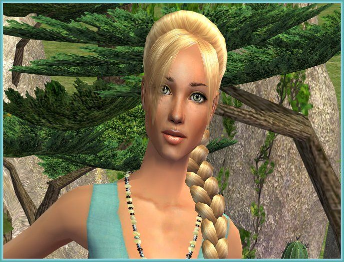 "Miss June 2014 - ""Suvi"" is a daddy's girl in celebration of Father's Day. She is by Sugah and can be found in our Sim of the Month Club. #Sims2 #downloads"