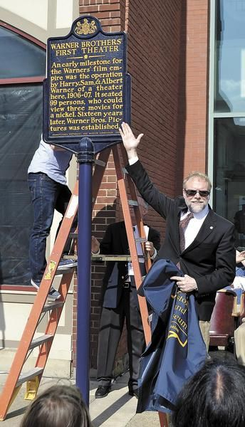 After years in storage, the PHMC marker signifying the historical importance of the Warner brothers theater is back in the spotlight. What does this mean for the residents of New Castle, Pennsylvania?  http://www.ncnewsonline.com/topstories/x1669982904/Historical-marker-returned-to-theater-site