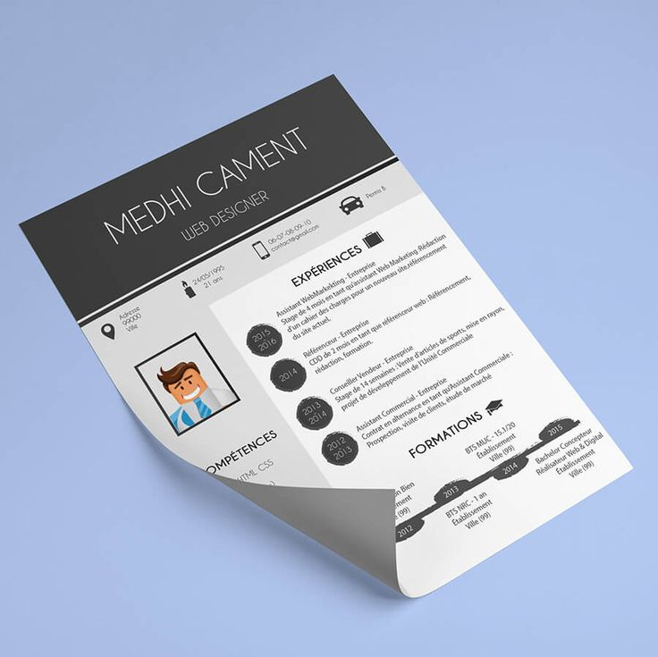 25  best ideas about cv format on pinterest
