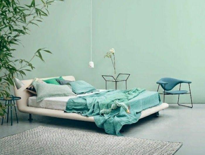 Les 25 meilleures id es de la cat gorie tapis turquoise - Plante verte chambre a coucher ...