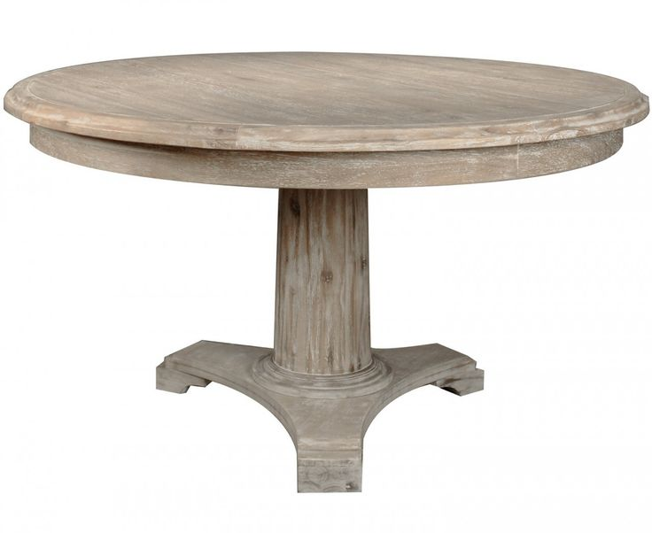 Furniture natural wood round table featuring wooden for Natural wood round table