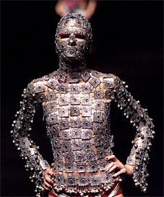 Extreme catwalk fashion armour