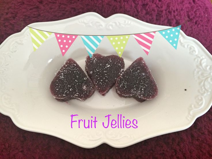 I got loads of blackcurrants last year and wanted to make something different than jam - so the idea of the fruit jellies was born. Recipe needs some tweaking as they were a bit too soft but nevertheless quite yummy