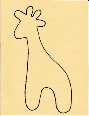 Liesellove...: Tutorial van de giraf!