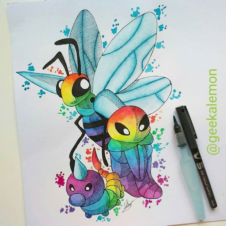 Follow us for more Unique Pokemon fan Tshirt and Hoodies link shop in my profile | Credit geekalemon: Johto Pokedex entries #27 28 29 Weedle Kakuna and Beedrill.  I hope you like it.  P.S: I gave up on Inktober. Can't do it everyday  So I'll continue the Johto Pokedex. Oh and I know I still have to Butterfree   Want an A4 commission of your favorite Pokemon? DM me! You'll get a free A4 print of your choice among the ones available in @geekalemon.sales  And...free shipping! PRICE: 20$…