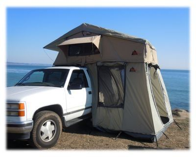Tepui Tents Gran Sabana 4 Four Person Roof Top Tent & 63 best Truck Bed Tents images on Pinterest | Bed tent Canopy for ...