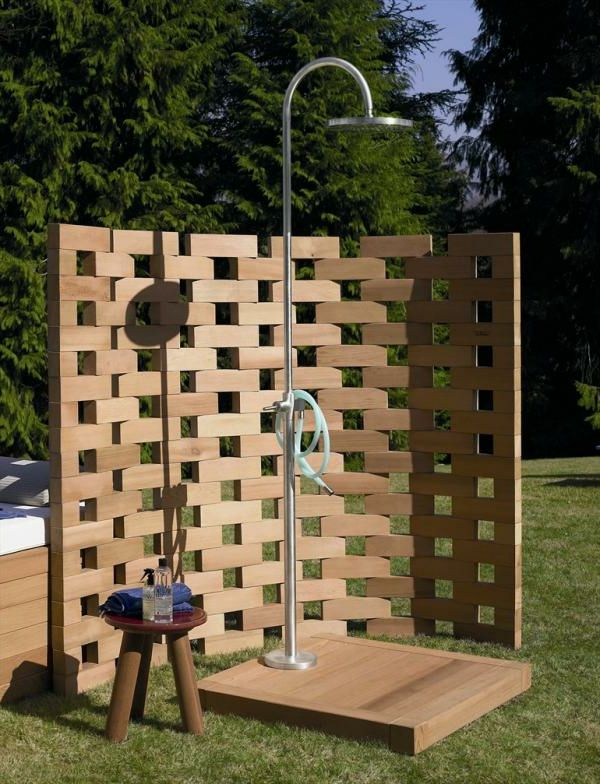 16 Genial Paravent Terrasse Garden Shower Outdoor Bathroom Design Roof Garden Design