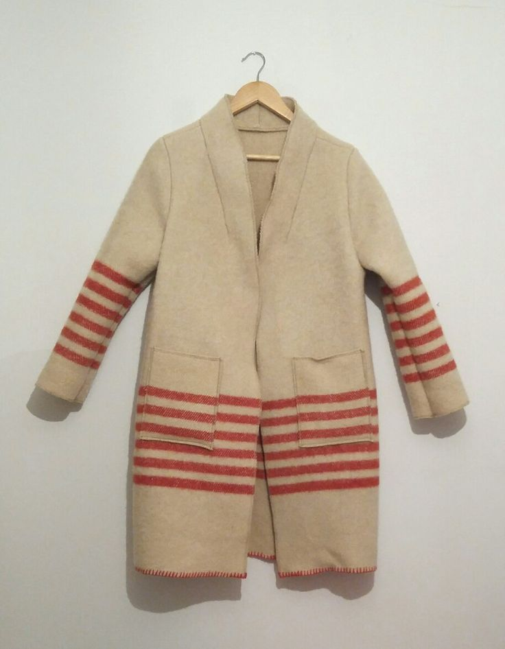 Blanket coat handmade