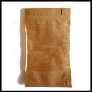 Torebki papierowe ze struną 50 g typu Doypack PREMIUM (100 sztuk)