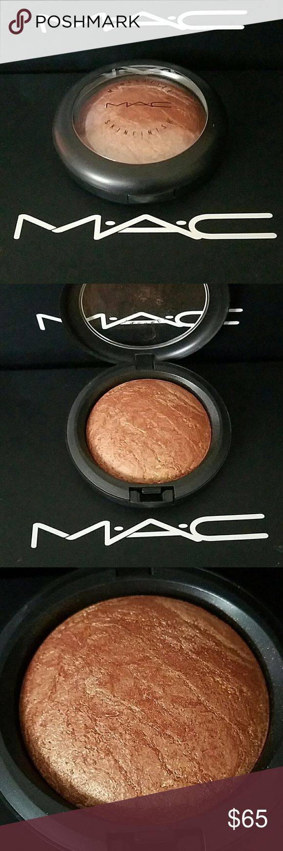 MAC Cosmetics Mineralize Skinfinish GOLD DEPOSIT [ Gold Deposit: Gold copper bronze with gold sparkle MAC Cosmetics Makeup Bronzer