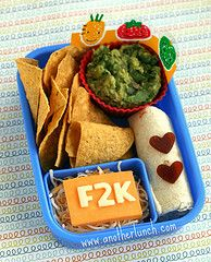 My kids love guac! Never thought of sending it in their lunch!