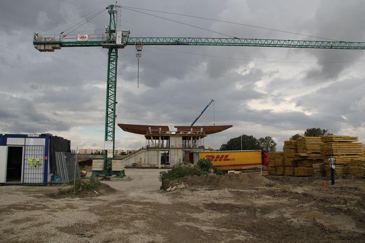 Oboustranná tribuna Hipoarény Šamorín/Double grandstand in Šamorín