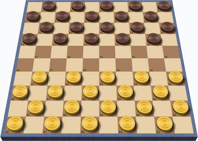 Draughts - Wikipedia British English Checkers ~ AMERICAN English  Who knew? It goes by another name across the pond! I only know the board games as Checkers