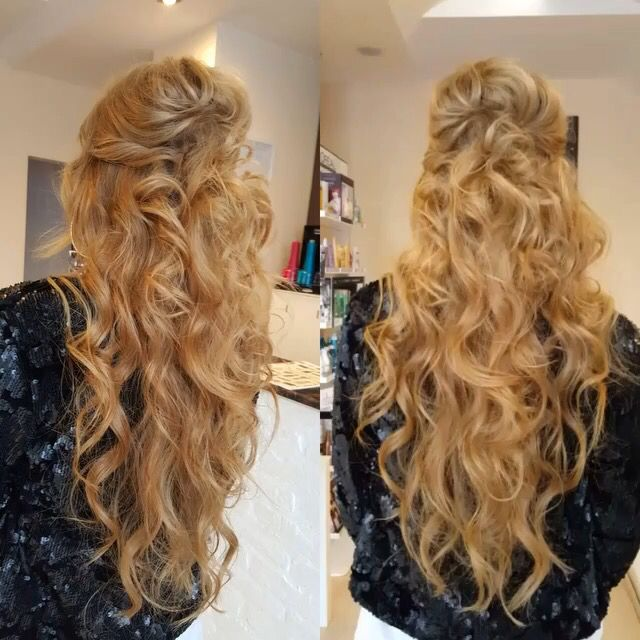 Waves long hair
