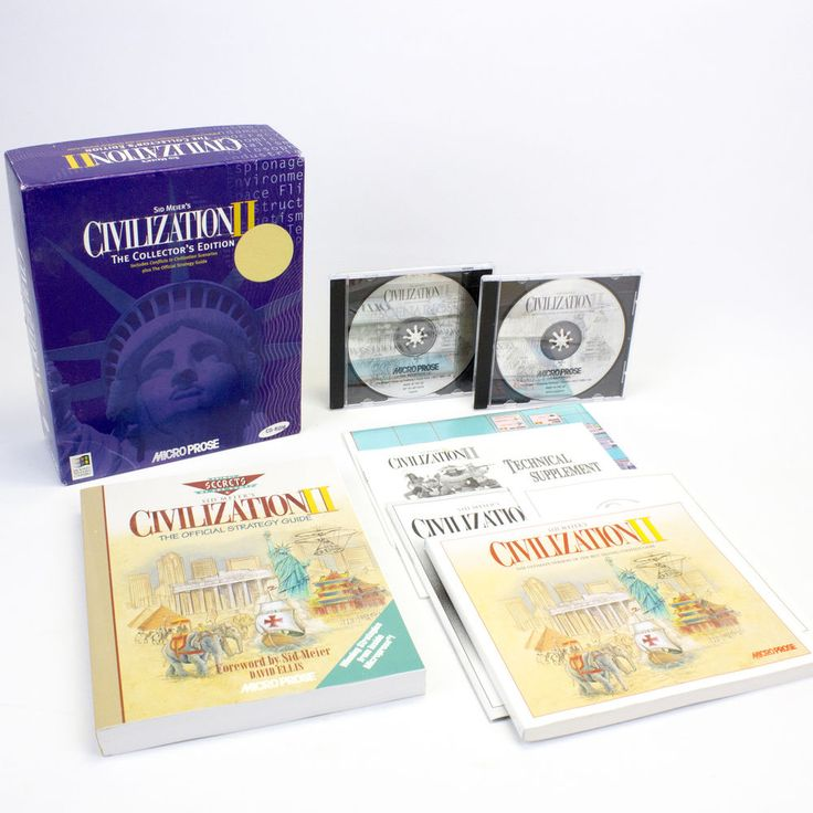 Sid Meier's Civilization II The Collector's Edition for PC by MicroProse, VGC