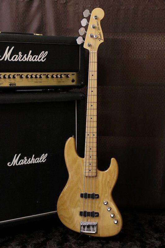 RARE Model 90s Made Fender Japan JBR 80M Active PU Vintage Natural Made in Japan   eBay