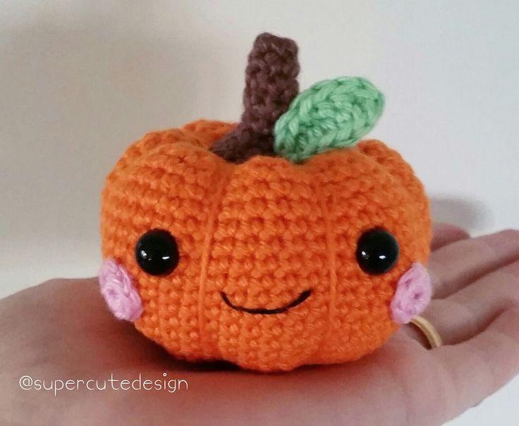 Pumpkin Amigurumi - Free English Pattern