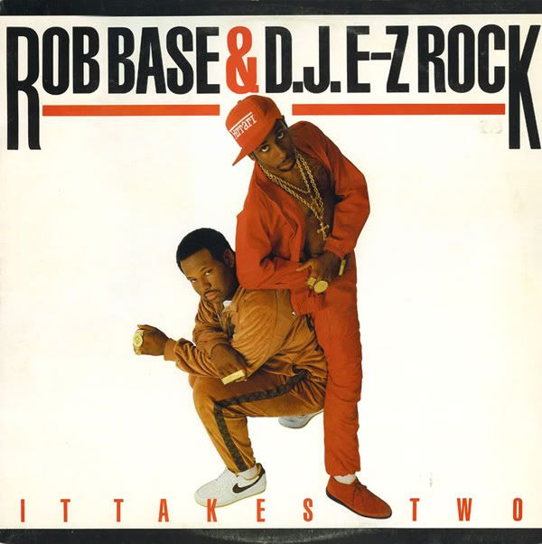 Today in Hip Hop History: Rob Base & Dj E-Z Rock released their debut album It Takes Two August 91988