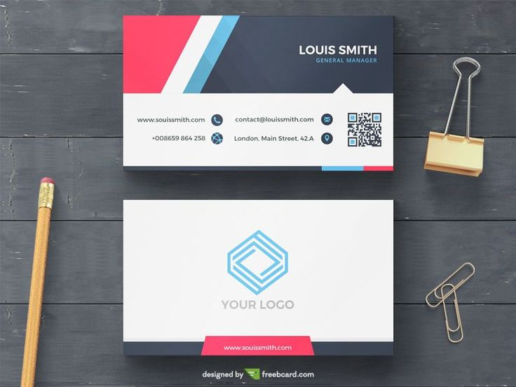 10 best business card templates free download images on pinterest free corporate business card template psd httpfreebcard fbccfo Images