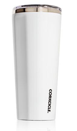 CORKCICLE 24 oz. Tumbler- Gloss White